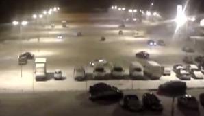 Câţiva buzoieni au profitat de zăpadă pentru a-şi testa maşinile