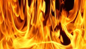 Un şofer din Rusia a provocat un incendiu la o benzinărie