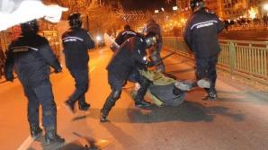 Un bărbat a fost prins cu două cocktailuri Molotov.
