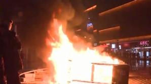 Şase dosare penale au fost întocmite, în urma protestelor de duminică din Capitală