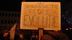 Protestatarii primesc număr de ordine
