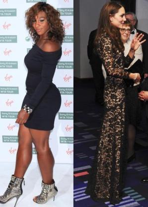 Serena Williams VERSUS Kate Middleton