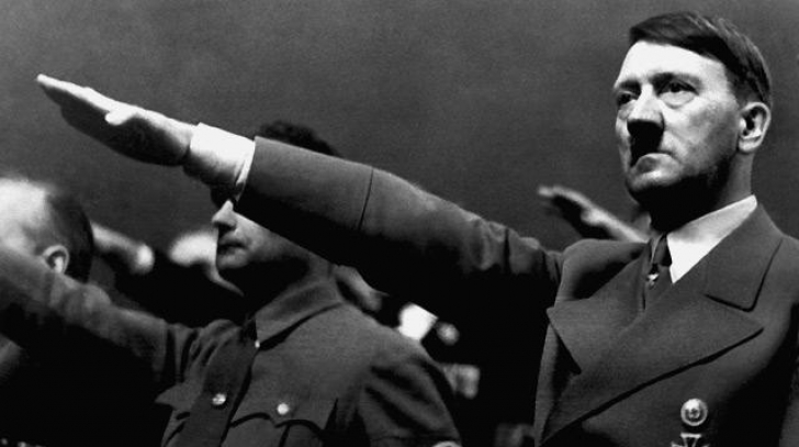 Dictatorul nazist Adolf Hitler