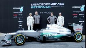 Mercedes şi-a prezentat noul monopost W03