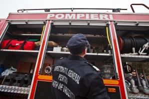 Unul dintre pompierii răniţi la Sighet are şanse minime de supravieţuire / Foto: MEDIAFAX