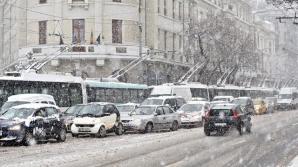 Vârful codului portocaliu va fi de luni în Bucureşti