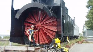 Deszăpezire calea ferată