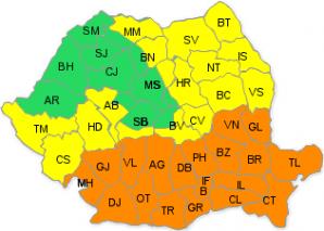 Harta condurilor ANM