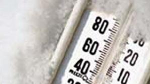 TEMPERATURĂ RECORD: minus 88 grade celsius, în masivul Bucegi