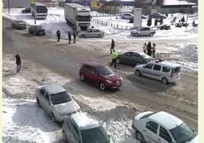 30 de turişti blocaţi la Galaţi.