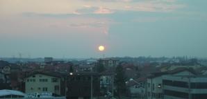 Apus de Soare Bucureşti