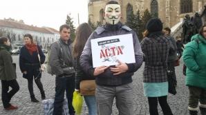 Protest împotriva ACTA