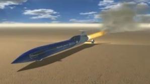 Aussie Invader, maşina capabilă, spun constructorii, să atingă 1000 de mile pe oră