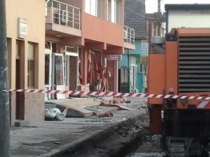 Explozie la o pensiune din Alba Iulia