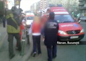 Imagini surprinse după atacul de la coafor