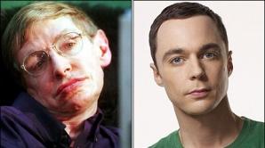 Stephen Hawking va apărea alături de personajul Sheldon Cooper