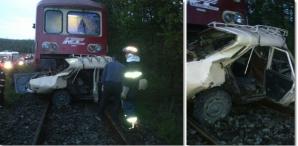 Bărbatul a murit pe loc, după ce a fost lovit de tren