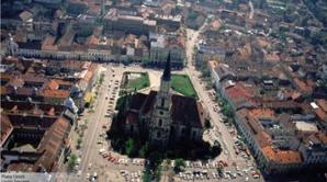Piaţa Unirii, Cluj / Foto Clujnapoca.ro