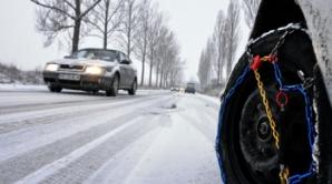 În judeţele Suceava şi Neamţ se circulă în condiţii de iarnă