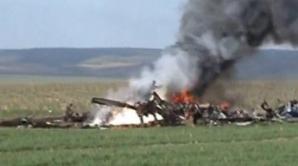 Elicopterul prăbuşit lângă localitatea Ostrov