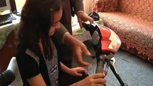 Invenţia care i-a schimbat viaţa unei fetiţe de 11 ani