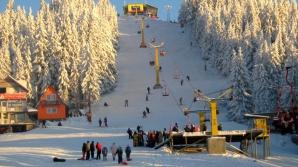 Soare şi zăpadă în Parâng