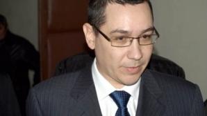 Premierul desemnat, Victor Ponta