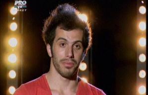 Răzvan Rotaru, actorul care şi-a scos pantalonii în faţa juriului