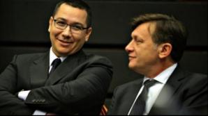 Guvernul Ponta a fost negociat la sânge de premierul desemnat, Crin Antonescu şi liderii PC