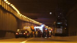 Grav accident de tramvai in Pasajul Lujerului