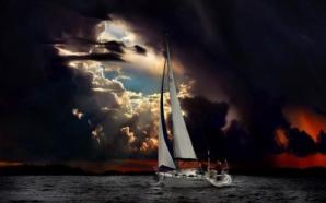 Cerul pare ceva mai periculos decât apa, în această imagine