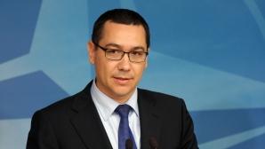 Ponta: Reducerea salariilor mari nu se va aplica profesorilor universitari sau magistraţilor / Foto: MEDIAFAX