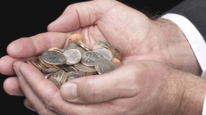 Salariul mediu în România - 390 euro, iar salariul minim - 171 euro
