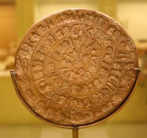 Discurile din Phaistos. Mesajul, pe alocuri şters, nu poate fi descifrat de experţi