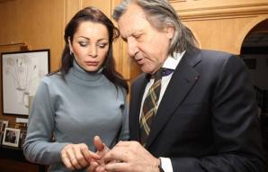 Brigitte Sfăt şi logodnicul ei, Ilie Năstase