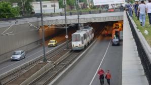 Bucureşti: Accident de tramvai cu peste 92 de răniţi în Pasajul Lujerului