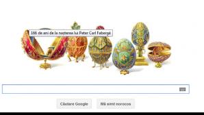 PETER CARL FABERGE, google doodle