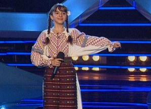 Romanii au talent, semifinala 5 - Luiza Ciudin