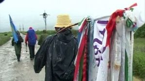 15.000 de credincioşi au ajuns deja pe muntele Şumuleu Mic, la procesiunea Rusaliilor