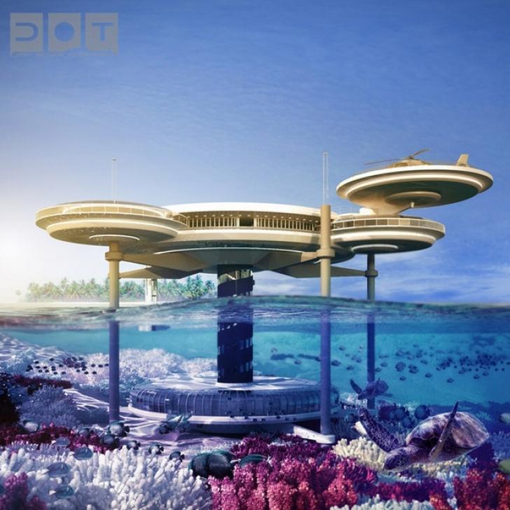 Primul hotel subacvatic din lume va fi construit în Dubai