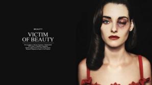 Victimele frumuseţii - un pictorial de modă şocant într-o revistă din Bulgaria
