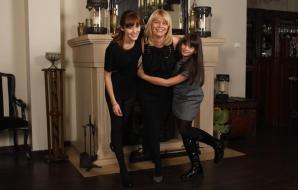 Alice Dumitrescu, iubita lui Horia Brenciu, cu cele două fiice ale sale