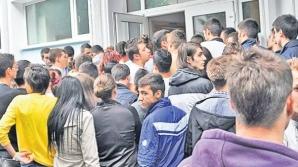 La Arad, absolvenţii s-au speriat de examenul de Bacalaureat