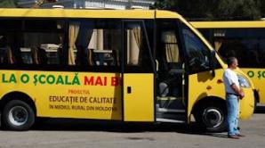 Copiii din mediul rural vor primi microbuze