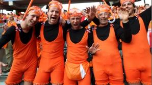 Suporterii olandezi au ajuns deja la Euro 2012