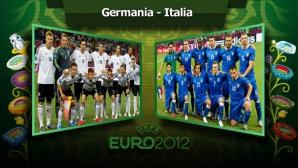 GERMANIA-ITALIA, în semifinale la EURO 2012