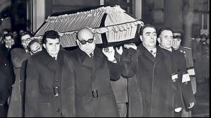 Imagini de la funeraliile lui Preoteasa