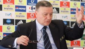 Mircea Sandu, preşedintele FRF