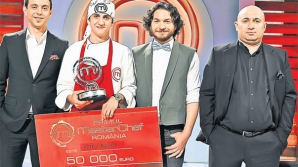Petru Buiuca este marele câştigător al competiţiei MasterChef