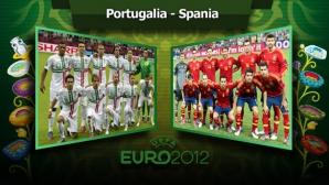PORTUGALIA-SPANIA, prima semifinală de la EURO 2012